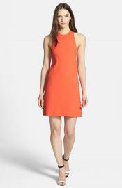 Theory and39Wellraand39 Racerback Jersey A-Line Dress at Nordstrom
