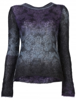 Theyskens Theory purple ombre sweater at Farfetch
