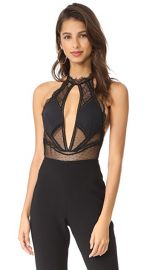 Thistle  amp  Spire Amore Plunge Bodysuit at Shopbop