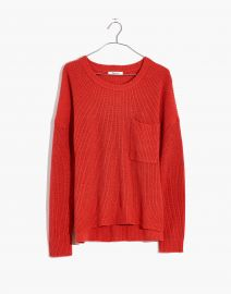 Thompson Pocket Pullover Sweater at Madewell