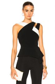 Thornhill Stretch Viscose Top by Roland Mouret at Forward