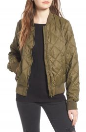 Thread   Supply Packaway Quilted Bomber at Nordstrom