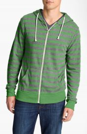 Threads for Thought Trim Fit French Terry Hoodie in Green at Nordstrom