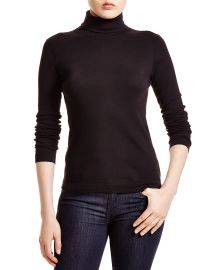 Three Dots Ribbed Turtleneck at Bloomingdales