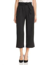 Three Dots Paper Bag Waist Crop Pants Women - Bloomingdale s at Bloomingdales