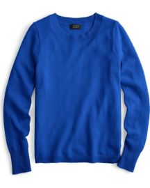 Three-Quarter Sleeve Everyday Cashmere Crewneck Sweater at J.Crew