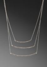 Three bar necklace by Gorjana at Revolve