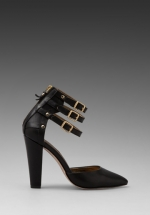 Three strap sandals by Cynthia Vincent at Revolve