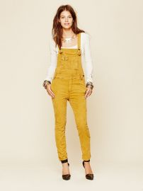 Through the woods corduroy overall at Free People