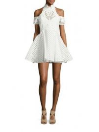Thurley - Be Mine Lace Cold-Shoulder Dress at Saks Fifth Avenue
