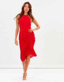 Ti Amo Drape Dress by Cooper St at The Iconic