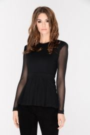 Tia Pleated Top by J.Dosi at J.Dosi