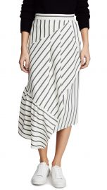 Tibi Asymmetrical Ruffle Skirt at Shopbop