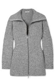 Tibi - M  lange knitted jacket at Net A Porter