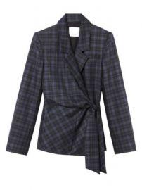 Tibi - Marvel Plaid Wool-Blend Suiting Jacket at Saks Fifth Avenue