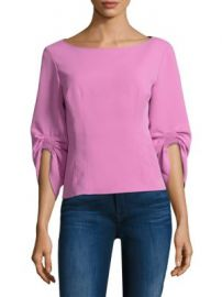 Tibi - Twill Corset Top at Saks Fifth Avenue