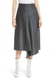 Tibi Asymmetrical Drape Skirt at Nordstrom