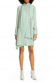 Tibi Modern Drape Long Sleeve Dress   Nordstrom at Nordstrom