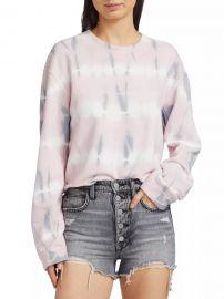 Tie-Dye Boxy Sweatshirt at Saks Fifth Avenue