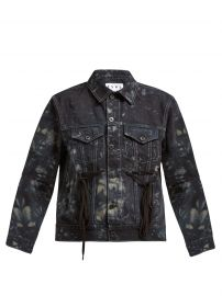 Tie-Dye Panelled Denim Jacket by Proenza Schouler at Matches