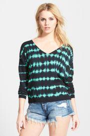 Tie Dye V-Neck Sweater at Nordstrom Rack