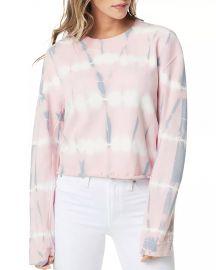 Tie-Dyed Cropped Sweatshirt at Bloomingdales