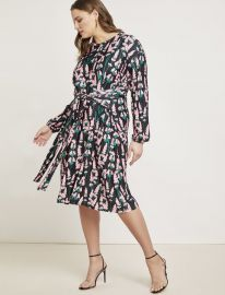 Tie Front Easy Dress at Eloquii