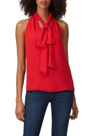 Tie Neck Blouse by Prabal Gurung Collective at Rent The Runway