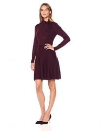 Tie Neck Sweater Dress by Eliza J at Amazon