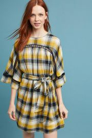 Tie-Waist Kimono Tunic Dress at Anthropologie