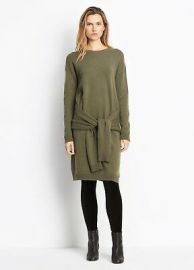 Tie Waist Sweater Dress by Vince at Nordstrom
