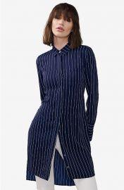 Tie back shirtdress at Armani Exchange