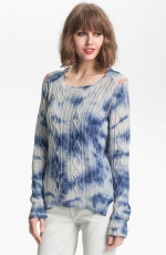 Tie dye sweater by Maison Scotch at Nordstrom