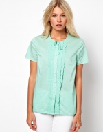 Tie front top like Janes at Asos