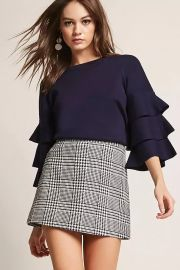 Tiered Bell Sleeve Top by Forever 21 at Forever 21