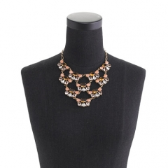 Tiered Stone Necklace at J. Crew