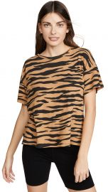 Tiger Boxy Crew Tee at Amazon