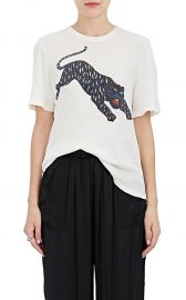 Tiger-Print Cotton T-Shirt at Barneys