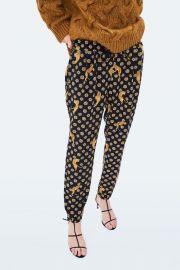 Tiger Printed Pants by Zara at Zara