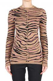 Tiger Stripe Virgin Wool Sweater at Nordstrom