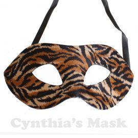 Tiger masquerade mask at Etsy