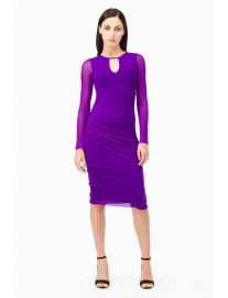 Tight Purple Dress at Fuzzi