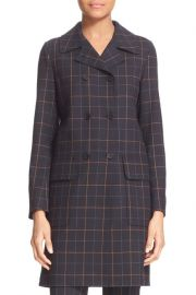 Tile Check Long Jacket by Theory at Nordstrom Rack