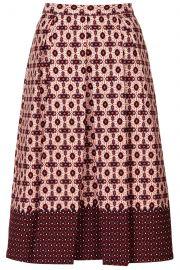 Tile Print Skirt at Topshop