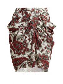 Tilena paisley-print crepe skirt at Matches