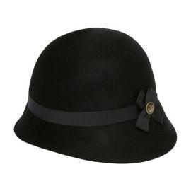 Tina hat in black at Goorin Bros