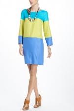 Tinas colorblock dress at Anthropologie