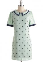 Tina's dress in green at Modcloth