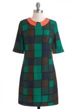 Tina's green dress at Modcloth at Modcloth