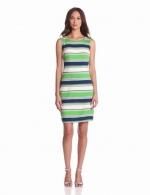 Tinas green striped dress on Glee at Amazon